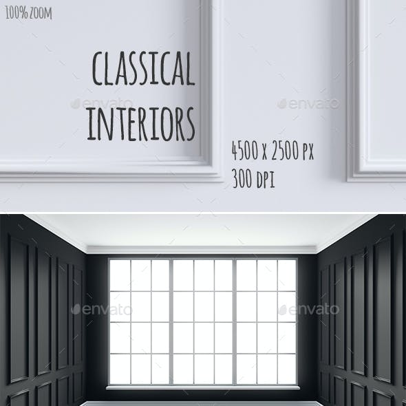 Classic Interiors with Paneling