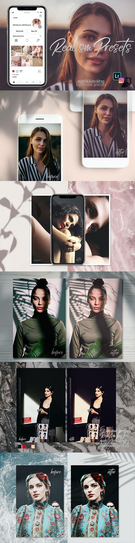 5 Realism Presets Lightroom Desktop and Mobile Presets - Lightroom Presets Add-ons