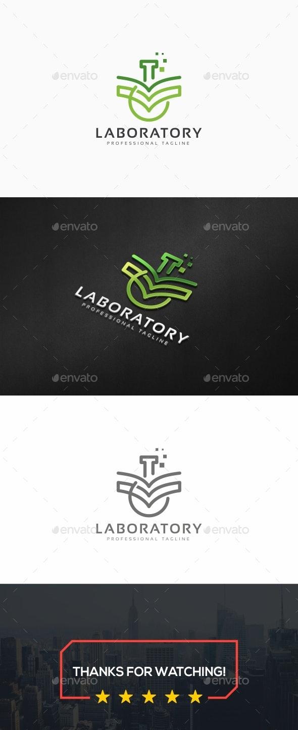 Laboratory Logo - Symbols Logo Templates