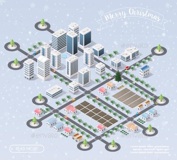 Christmas New Year Snow - Christmas Seasons/Holidays