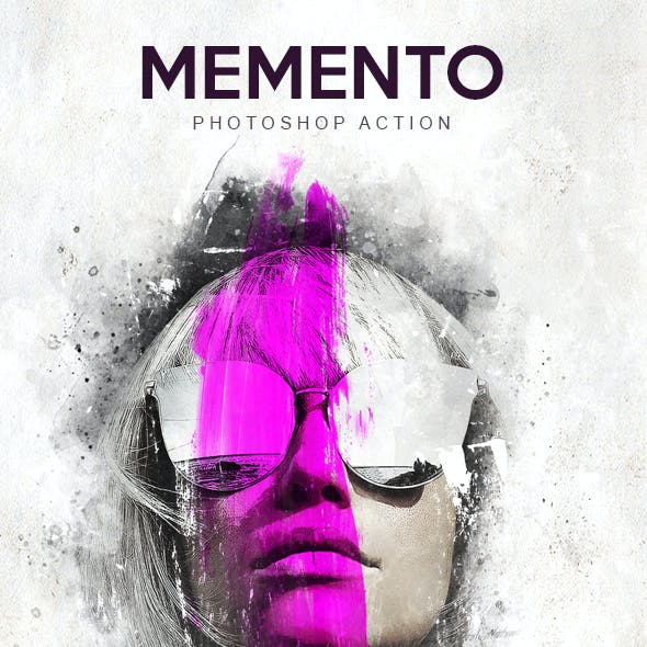 Memento - Photoshop Action