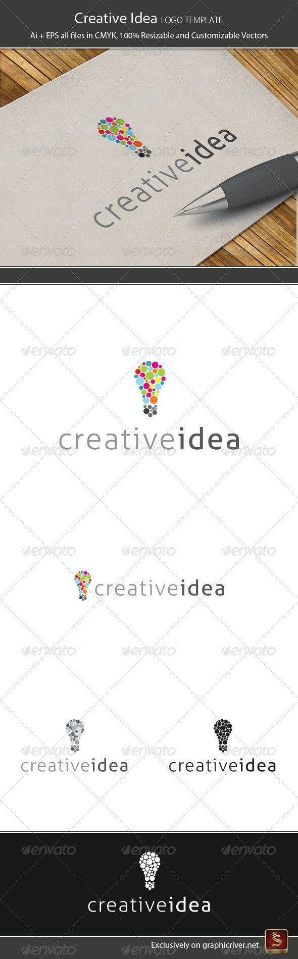 Creative Idea - Objects Logo Templates