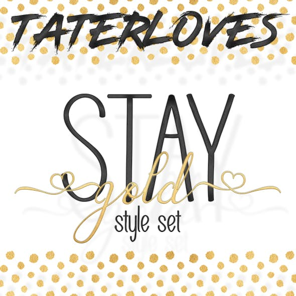 Stay Gold Photoshop Style