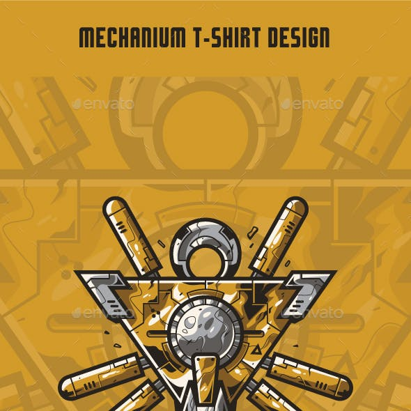 Mechanium T-Shirt Design
