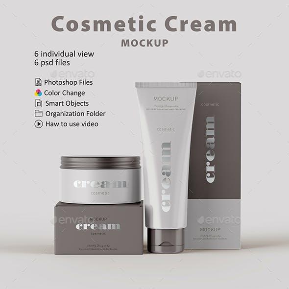 Cosmetic Cream Mockup