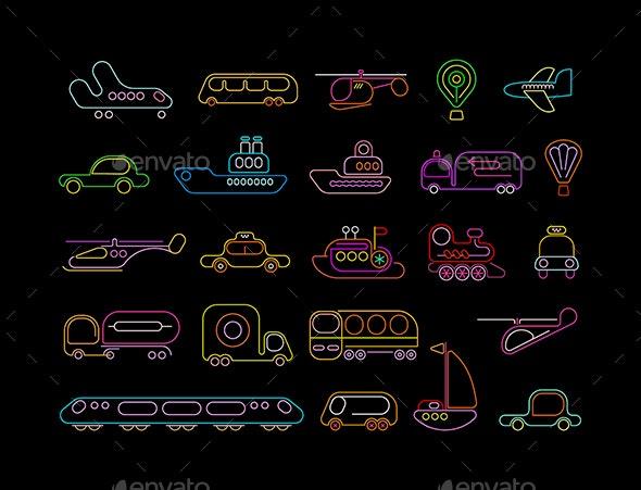 Transport - Travel Conceptual