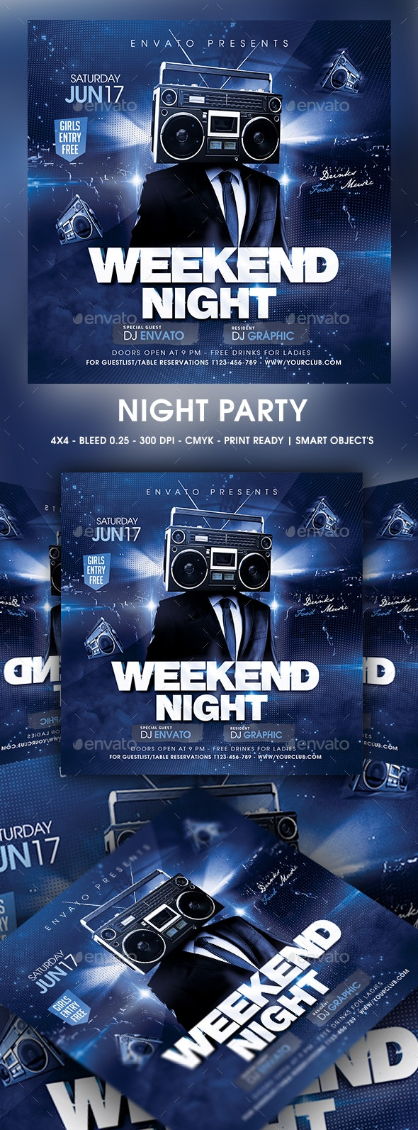 Night Party - Clubs & Parties Events