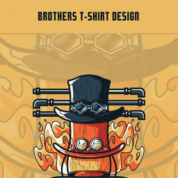 Brothers T-Shirt Design