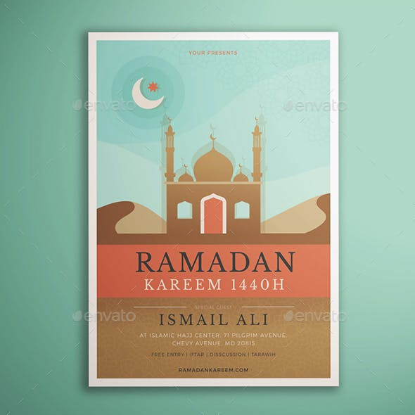 Ramadan Kareem Flyer Vol. 01