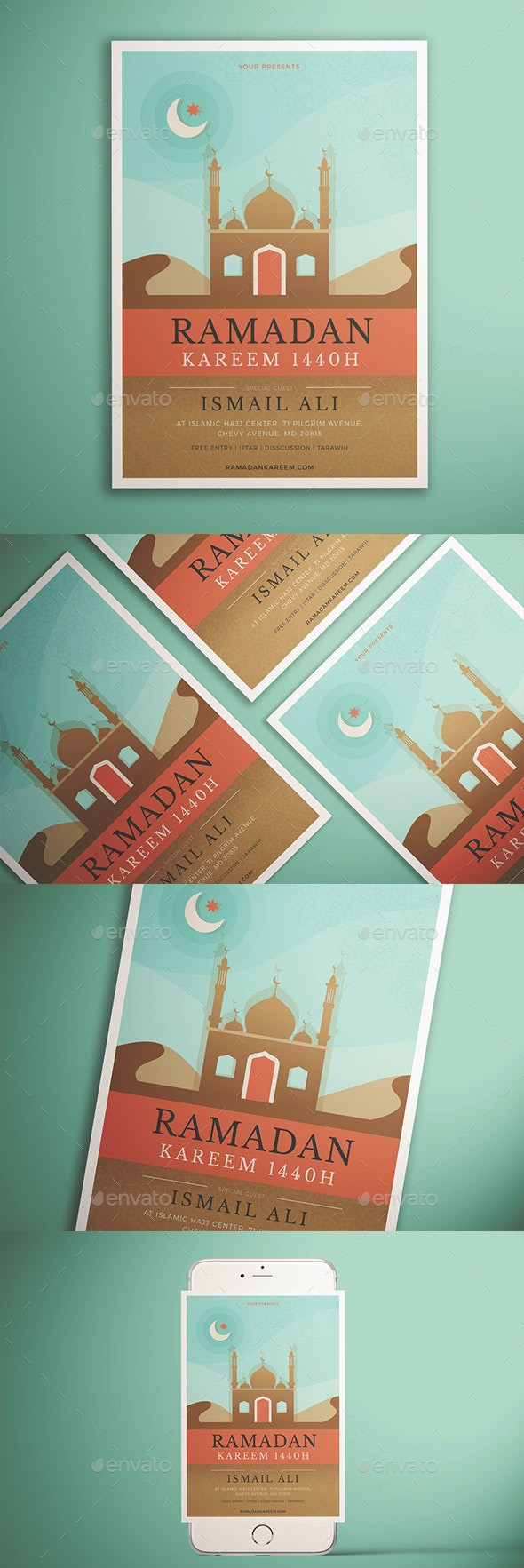Ramadan Kareem Flyer Vol. 01 - Holidays Events
