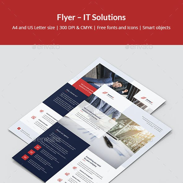 Flyer – IT Solutions