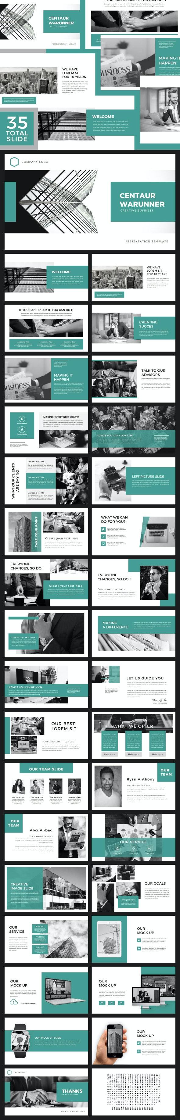 Centaur - PowerPoint - Business PowerPoint Templates