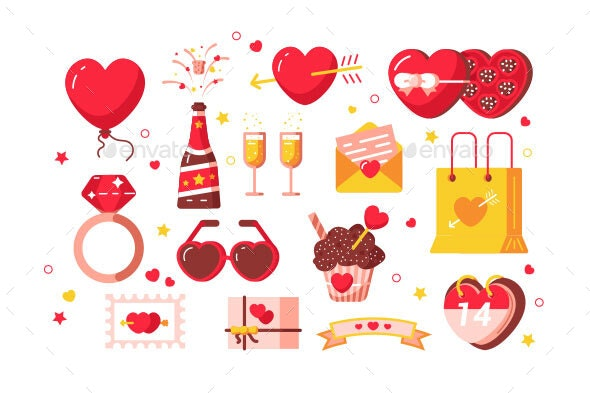 About Love Set - Miscellaneous Seasons/Holidays