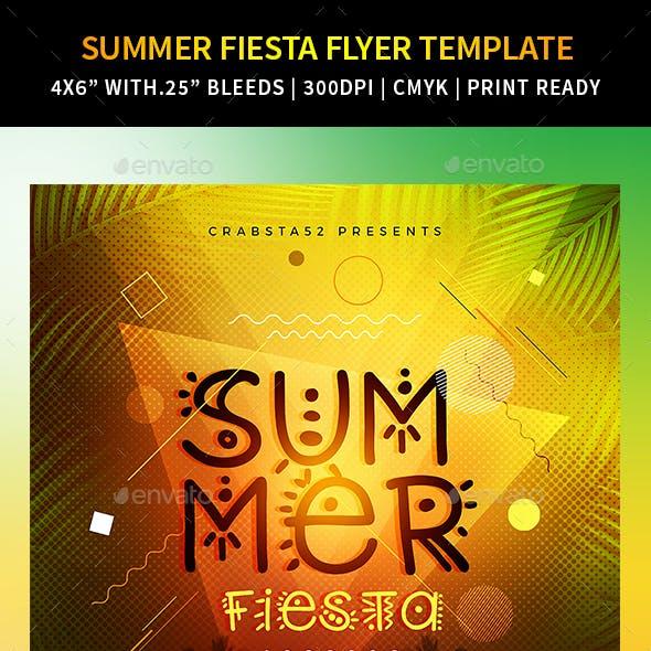 Summer Fiesta Flyer Template