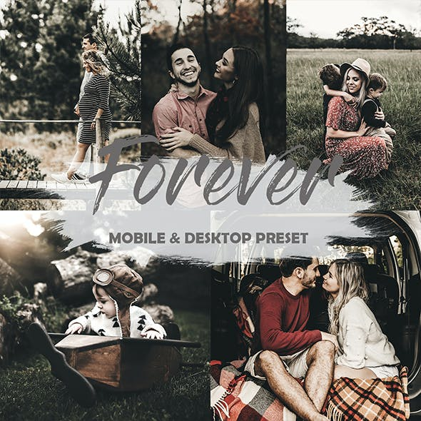 Forever Mobile Lightroom Preset