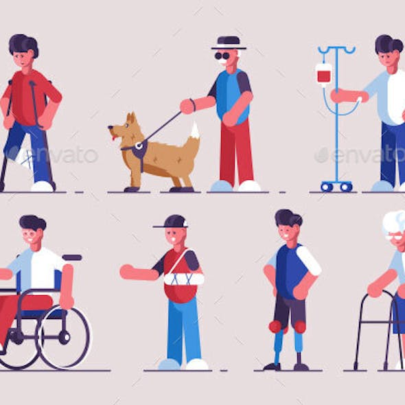 Disabled Characters Set
