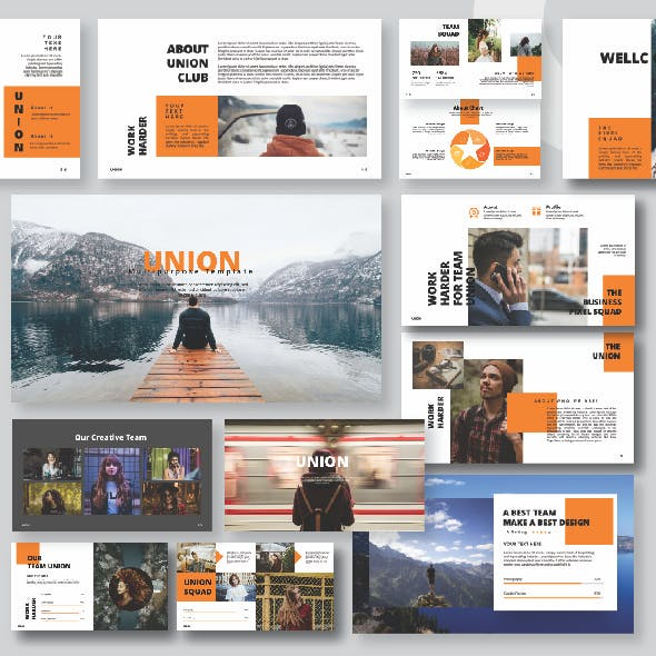 UNION Google Slide Template