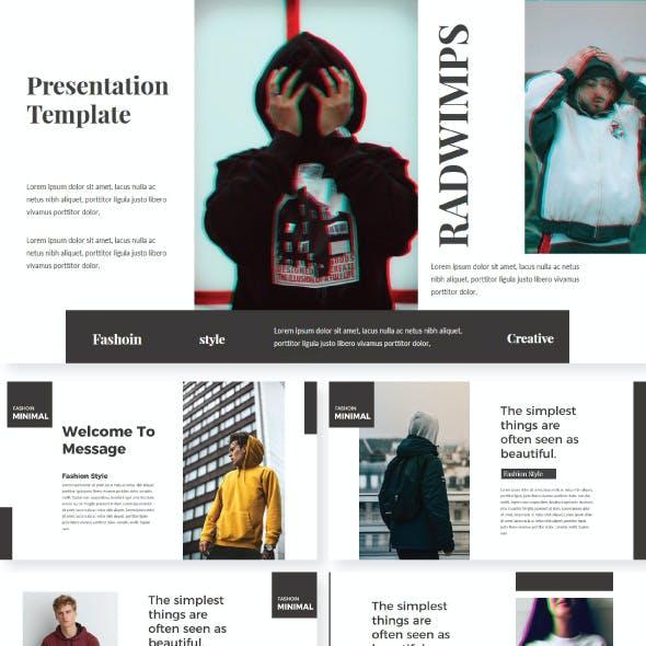 Radwimps Keynote Template