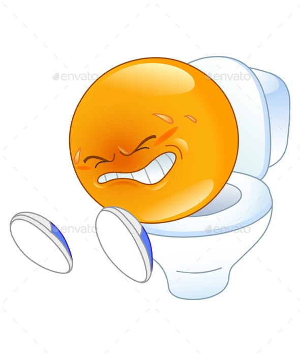 Pooping Emoticon - People Characters