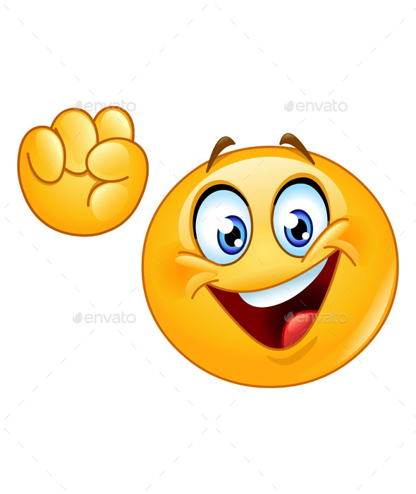 Power to the People Emoticon - People Characters
