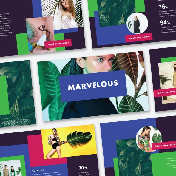 Marvelous - Creative PowerPoint Template