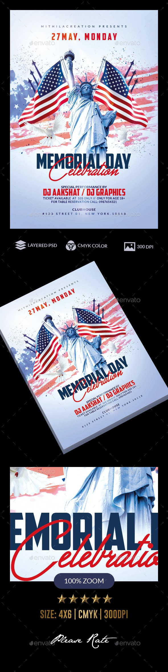 Memorial Day - Holidays Events