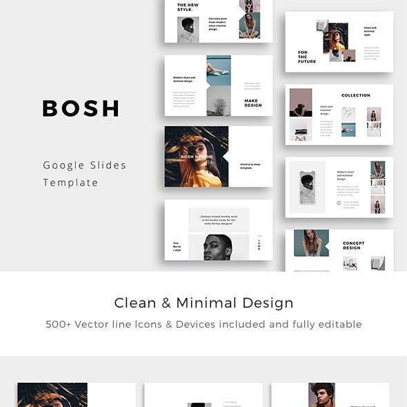 Bosh - Minimal Google Slides Template