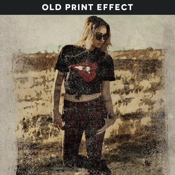 Old Print Effect