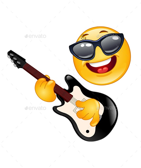 Rock Emoticon - People Characters