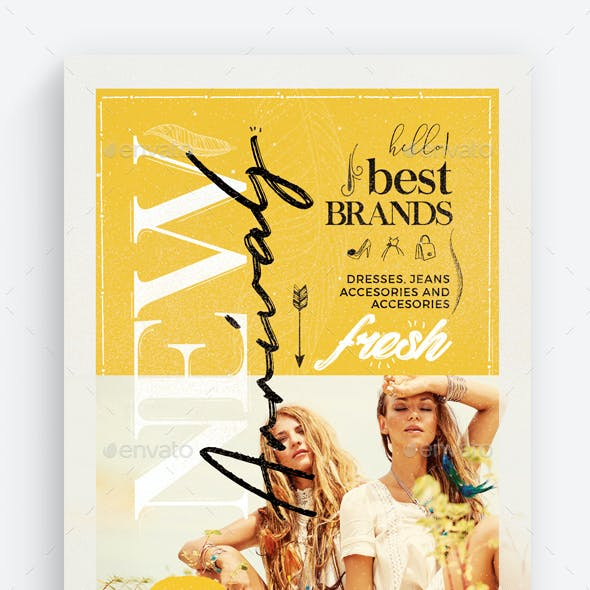 New Arrivals - Fashion Flyer Template