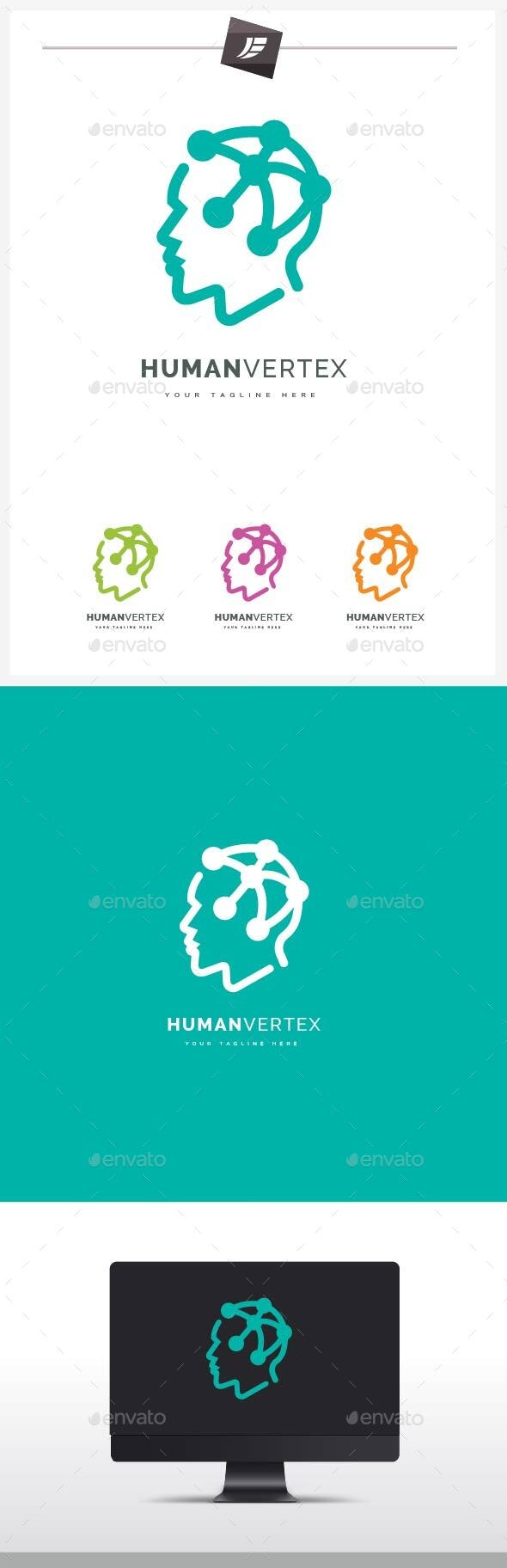 Human Vertex Logo - Humans Logo Templates