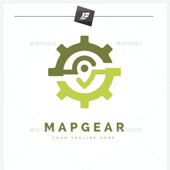Map Gear Logo