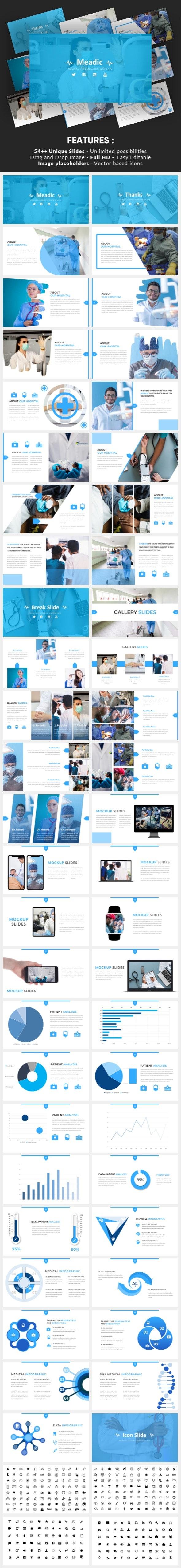 Meadic - Medical Keynote Template - Business Keynote Templates