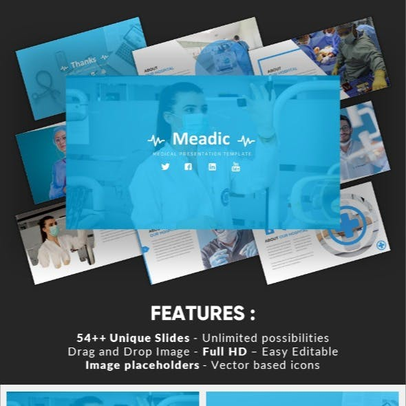Meadic - Medical Google Slides Template