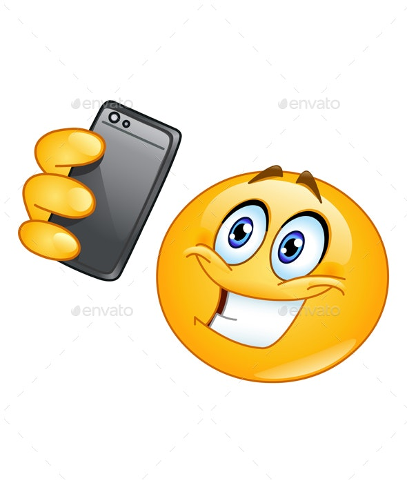 Selfie Emoticon - People Characters
