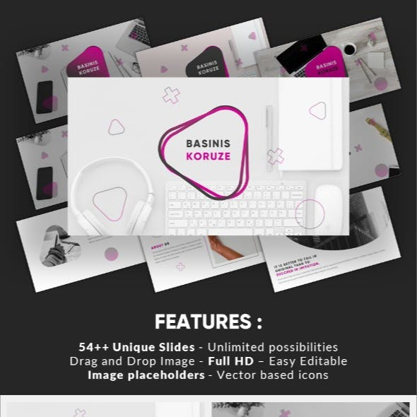 Basinis Koruze - Business Office Powerpoint Template