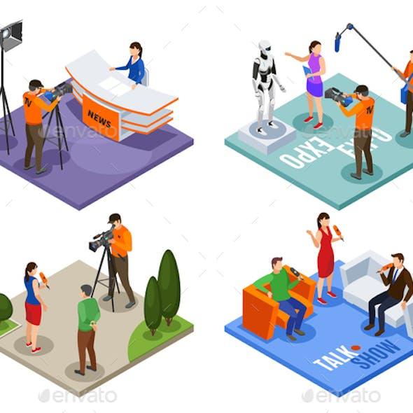 Broadcasting 2x2 Design Concept