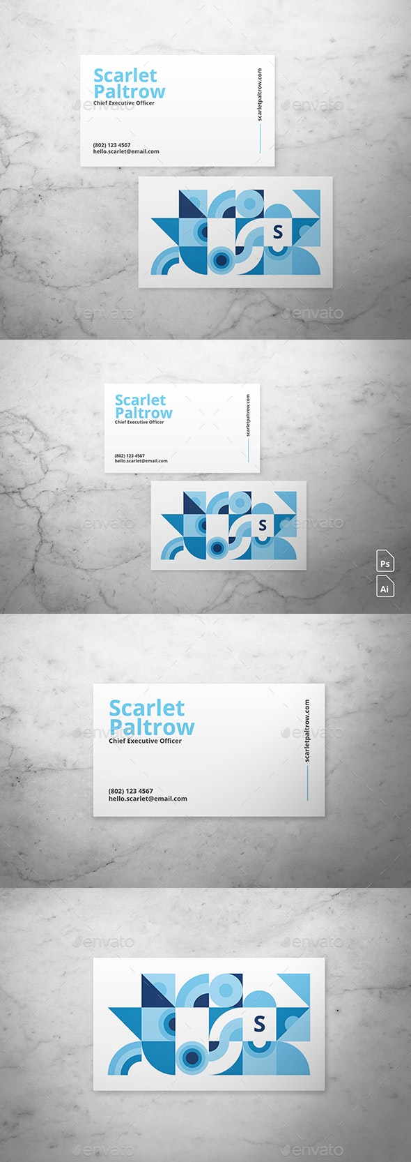 Playful Business Card - Corporate Business Cards