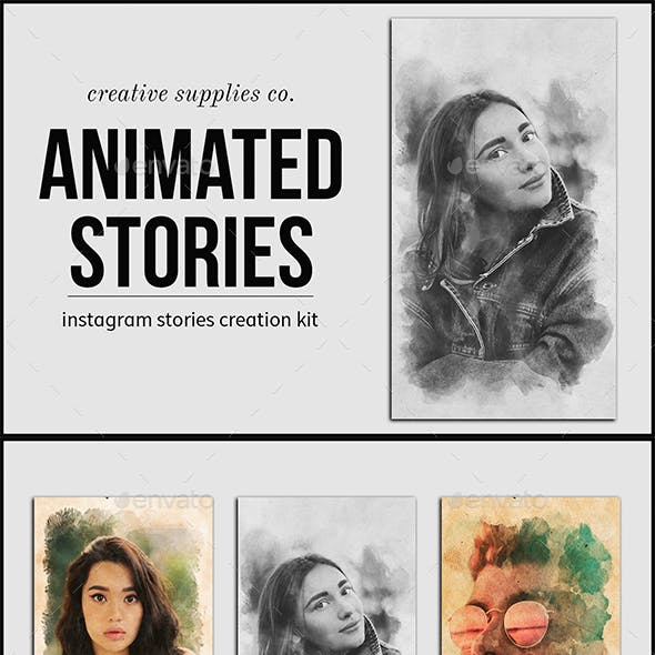 Animated Stories Kit - Vol. 01