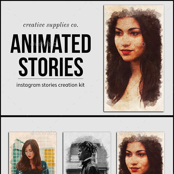 Animated Stories Kit - Vol. 03