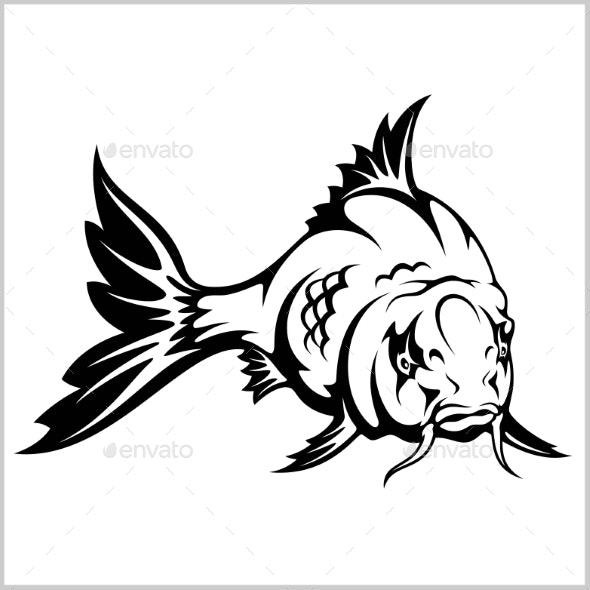 Carp Fish - Animals Characters