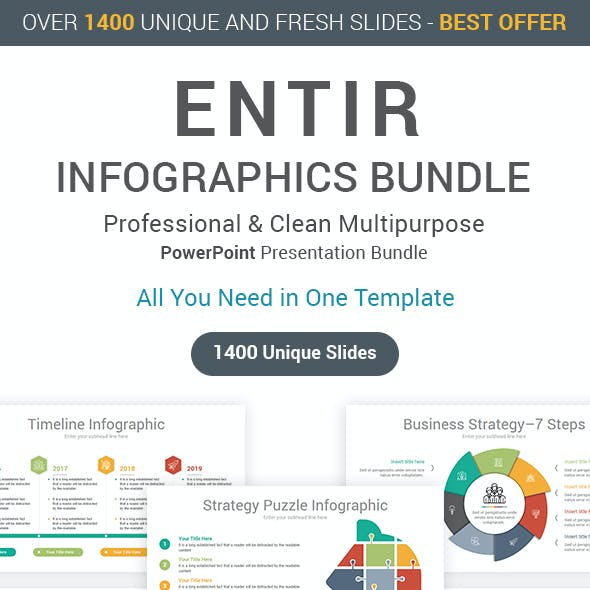 Entire Infographics PowerPoint Bundle
