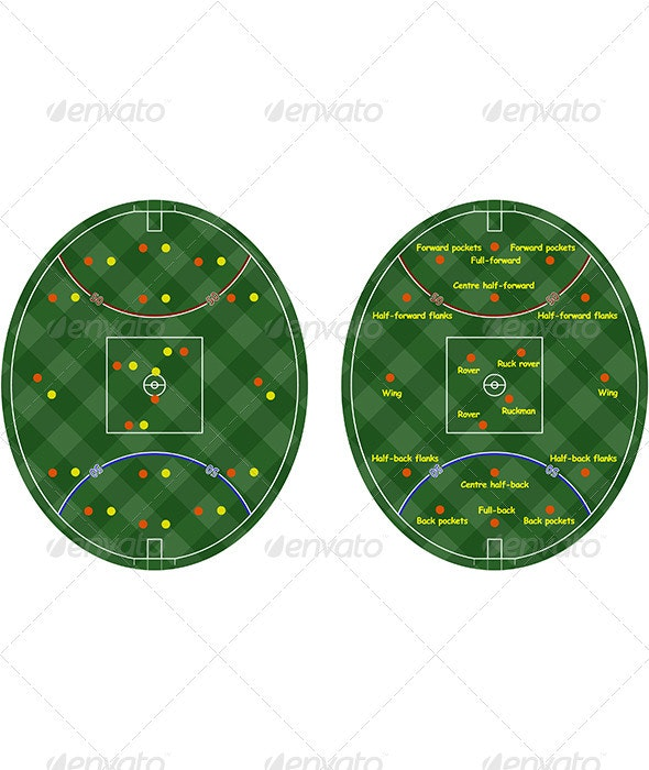 Australian Rules Football Pitches - Sports/Activity Conceptual
