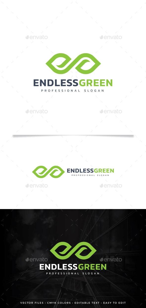 Endless Green Logo - Symbols Logo Templates