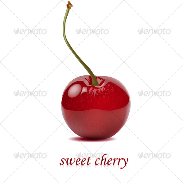 Sweet cherry - Food Objects