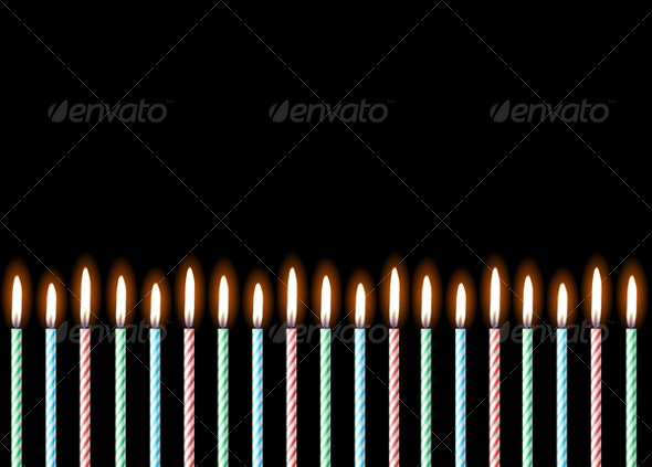 Happy Birthday. Vector illustration  - Backgrounds Decorative