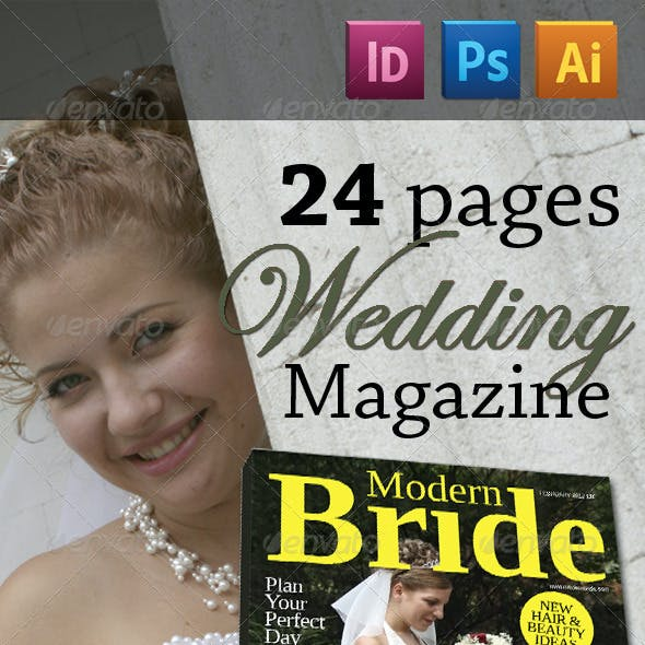 24 Pages Wedding Magazine Version Two