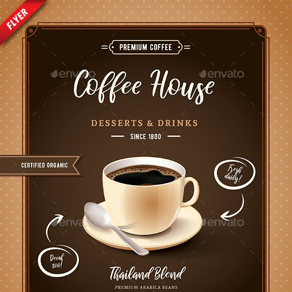 Coffee House Business Flyer