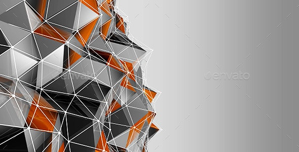 Polygon Background - Abstract Backgrounds
