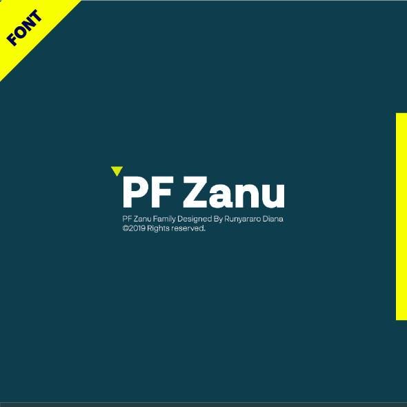 PF Zanu Font